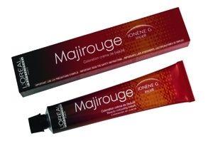 L'oreal Majirouge Haarfarbe 6,60 dunkelblond intensiv rot 50ml