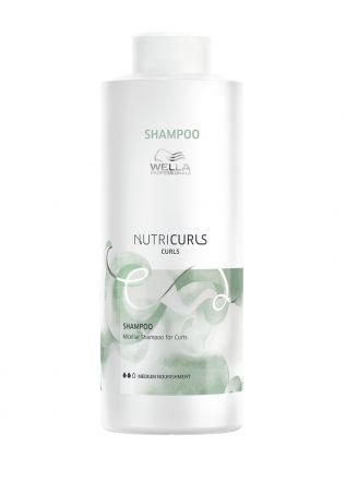 Wella NutriCurls Curls Shampoo 1000ml