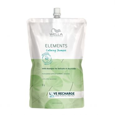 Wella Elements Calming Shampoo 1000ml Nachfüllpack