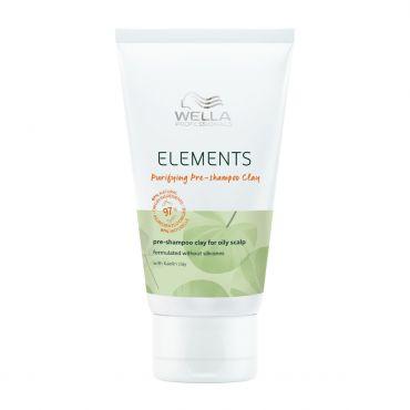 Wella Elements Purifying Pre Shampoo Clay  70ml