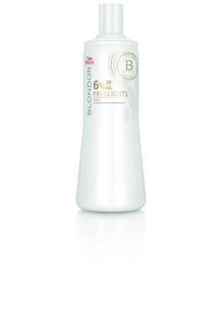 WELLA Blondor Freelights Oxidationsmittel 6%  1 Liter