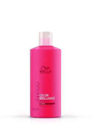 Wella Invigo Color Brilliance Shampoo für kräftiges Haar 500ml