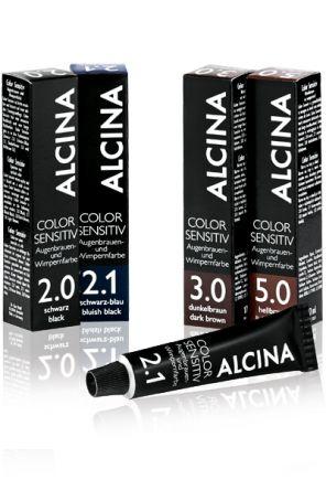 ALCINA Color Sensitiv Augenbrauen und Wimpernfarbe 2.1 schwarz blau 17ml