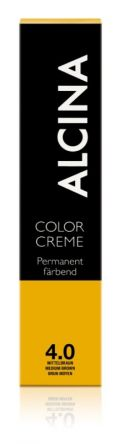 ALCINA Color Creme Haarfarbe  60ml  4.0 mittelbraun