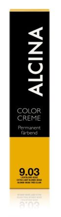 ALCINA Color Creme Haarfarbe  60ml  9.03 lichtblond-beige