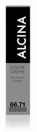 ALCINA Color Creme Haarfarbe  60ml  66.71 dunkelblond intensiv-natur