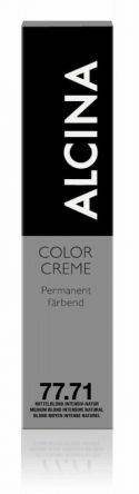 ALCINA Color Creme Haarfarbe  60ml  77.71 mittelblond intensiv-natur