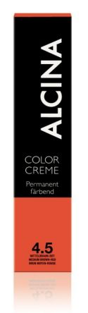 ALCINA Color Creme Haarfarbe  60ml  4.5 mittelbraun-rot