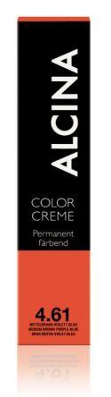 ALCINA Color Creme Haarfarbe  60ml  4.61 mittelbraun-violett-blau