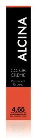 ALCINA Color Creme Haarfarbe  60ml  4.65 mittelbraun-violett-rot