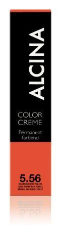 ALCINA Color Creme Haarfarbe  60ml  5.56 hellbraun-rot-violett