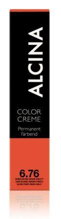 ALCINA Color Creme Haarfarbe  60ml  6.76 dunkelblond-braun-violett