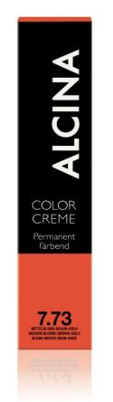 ALCINA Color Creme Haarfarbe  60ml  7.73 mittelblond braun-gold