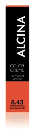 ALCINA Color Creme Haarfarbe  60ml  8.43 hellblond-kupfer-gold