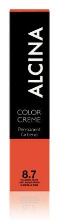 ALCINA Color Creme Haarfarbe  60ml  8.7 hellblond-braun