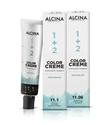 ALCINA Color Creme Haarfarbe  60ml  11,8+ silberton plus