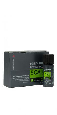 GOLDWELL Men Reshade Power Shots  Farbe 5CA   4x20ml