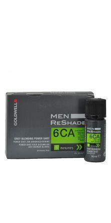 GOLDWELL Men Reshade Power Shots Farbe 6CA  4x20ml
