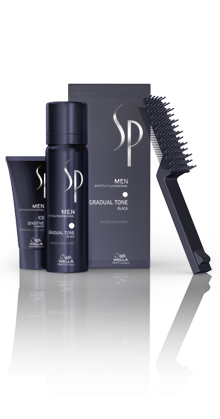 WELLA System Professional Men Gradual Tone Black  1 Set