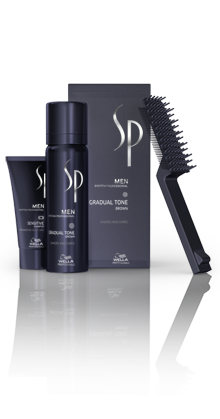 WELLA System Professional Men Gradual Tone Brown  1 Set