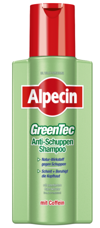 Alpecin GreenTec Anti-Schuppen Shampoo 250ml
