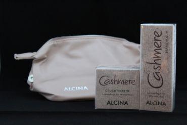 ALCINA Cashmere Gesichtscreme 50ml + Handcreme 50ml + Beautybag  1 Set