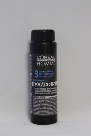 L'oreal Homme Cover 5 NO 3 dunkelbraun 3x 50ml