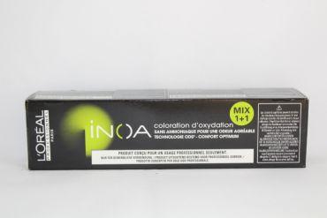 L'oreal Inoa Cremehaarfarbe 6,8 dunkelblond mokka 60ml