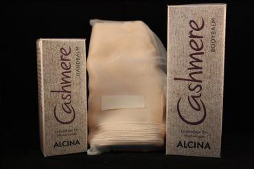 ALCINA Cashmere Bodybalm 150ml + Handbalm 50ml + Schal