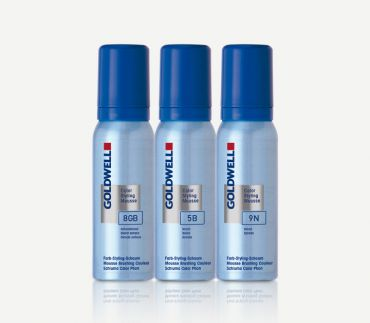 GOLDWELL Color Styling Mousse 6N dunkelblond 75ml