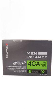 GOLDWELL Men Reshade Power Shots Farbe 4CA  4x 20ml