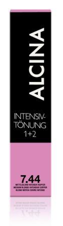 ALCINA Intensiv Tönung 60ml 7.44 mittelblond intensiv-kupfer