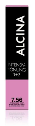 ALCINA Intensiv Tönung 60ml 7.56 mittelblond-rot-violett