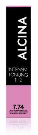 ALCINA Intensiv Tönung 60ml 7.74 mittelblond-braun-kupfer