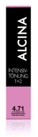 ALCINA Intensiv Tönung 60ml 4.71 mittelbraun braun-natur