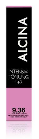 ALCINA Intensiv Tönung 60ml 9.36 lichtblond gold-violett extra