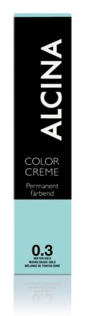 ALCINA Color Creme Haarfarbe  60ml  0.3 mixton gold