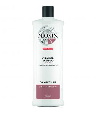 NIOXIN System 3 Cleanser Shampoo für 1000ml